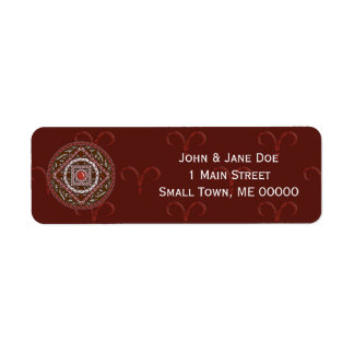 Aries Address Label
