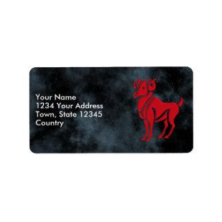 Aries Label