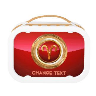 Aries Zodiac Sign Lunchbox
