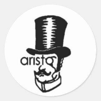 aristo classic round sticker