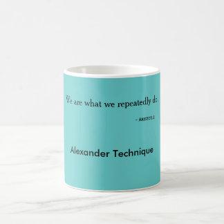 Aristotle mug we are what we do
