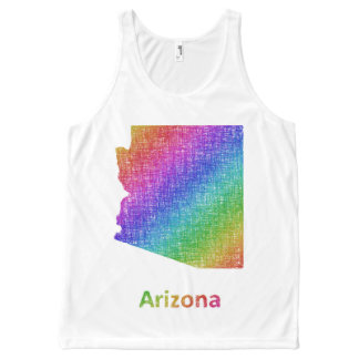 Arizona All-Over Print Singlet