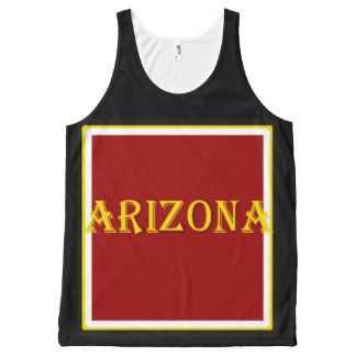 Arizona All-Over Printed Unisex Tank