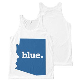 ARIZONA BLUE STATE All-Over PRINT SINGLET