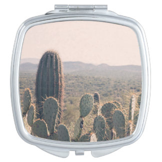 Arizona Cacti  | Compact Mirror