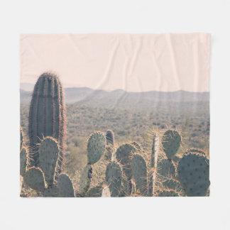 Arizona Cacti  | Fleece Blanket