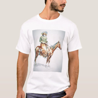 Arizona Cowboy, 1901 (crayon on paper) T-Shirt
