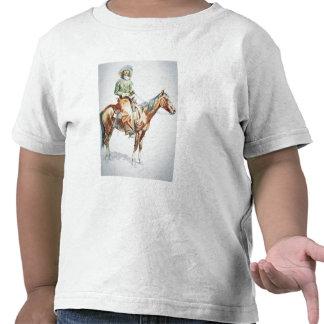 Arizona Cowboy, 1901 (crayon on paper) Tee Shirt