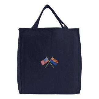 Arizona Embroidered Tote Bag