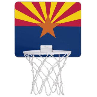 Arizona flag mini basketball hoop