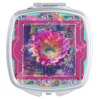 Arizona flower Compact mirror