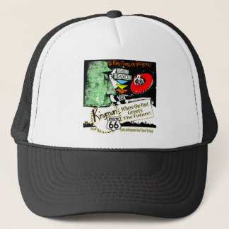 Arizona Fun-Time 1950s style Alien UFO Route 66 Trucker Hat