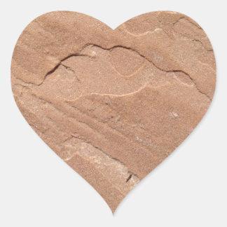 Arizona Sandstone Heart Sticker