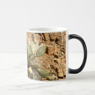 Arizona / Sedona / Cactus / Prickly Pear Morphing Mug