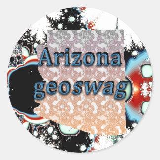 Arizona State Geocaching Supplies Stickers Geoswag