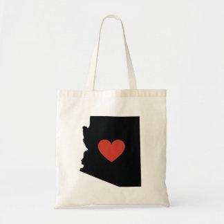 Arizona State Love Book Bag or Travel Tote