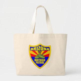 Arizona Wayhigh Patrol Large Tote Bag