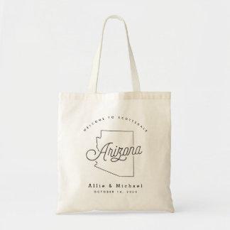 Arizona Wedding Welcome Tote Bag
