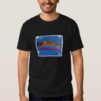 Arizona with graphic boarder tshirt