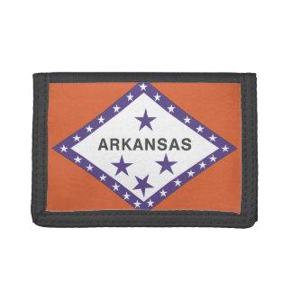 ARKANSAS Flag - Trifold Wallet