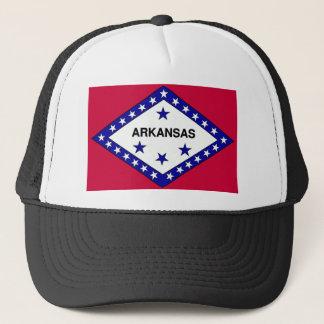 Arkansas Flag Trucker Hat