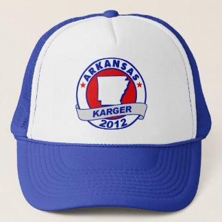 Arkansas Fred Karger Trucker Hat