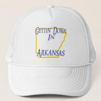 Arkansas - Gettin' Down Trucker Hat