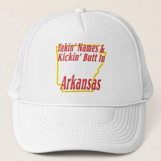Arkansas - Kickin' Butt Trucker Hat
