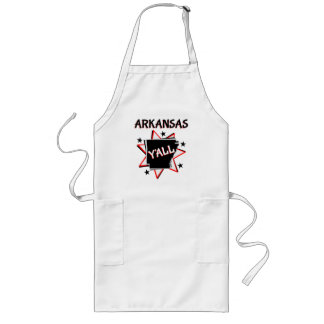Arkansas State Pride Y'all Long Apron