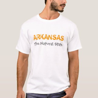 Arkansas The Natural State Land of Opportunity T-Shirt