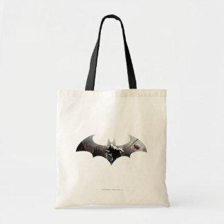 Arkham City Bat Symbol Tote Bag