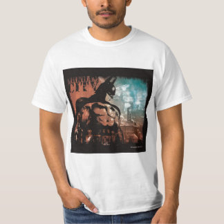 Arkham City Batman mixed media T-Shirt