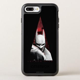 Arkham City Triangle OtterBox Symmetry iPhone 8 Plus/7 Plus Case