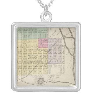 Arlington, Kansas Silver Plated Necklace