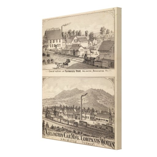 Arlington Vermont Gallery Wrapped Canvas