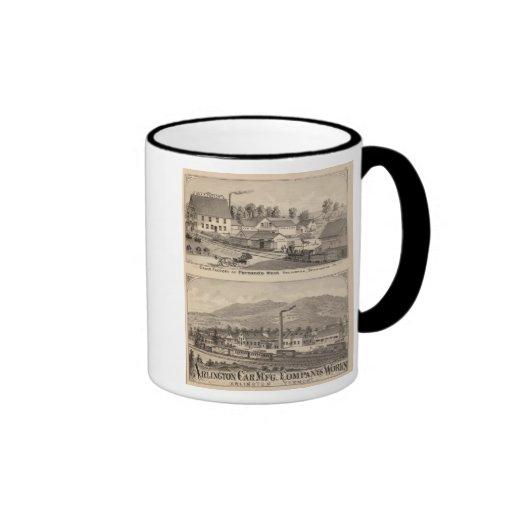 Arlington Vermont Coffee Mug