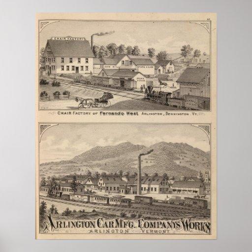 Arlington Vermont Poster