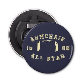 Armchair All Star Football Bottle Opener
