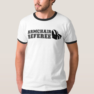 Armchair Referee Football T-Shirt