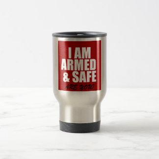 Armed & Safe Travel Mug Coffee Mugs