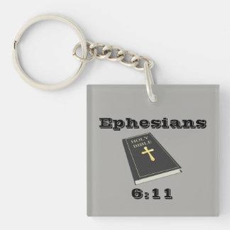 Armour of God Keychain w/Bible