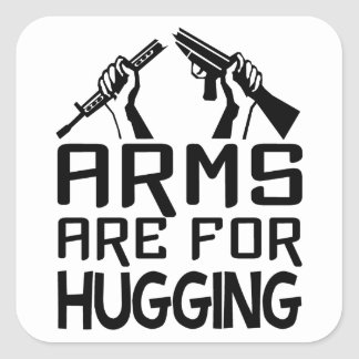 Arms Are For Hugging stickers