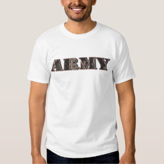 Army 3 tshirts