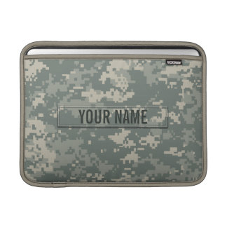Army ACU Camouflage Customizable Sleeves For MacBook Air