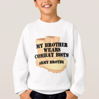 Army Brother Brother Desert Combat Boots Sweatshirt
