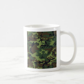 Army Camo Basic White Mug