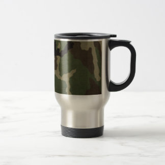Army Camo Stainless Steel Travel Mug