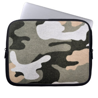 Army - camouflage laptop sleeve