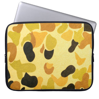 Army Camouflage Pattern Computer Sleeve