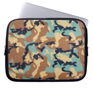 Army Camouflage Pattern Computer Sleeves